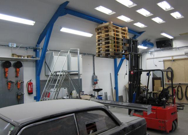 News 2011 del 1 for 2 1 2 metratura del garage